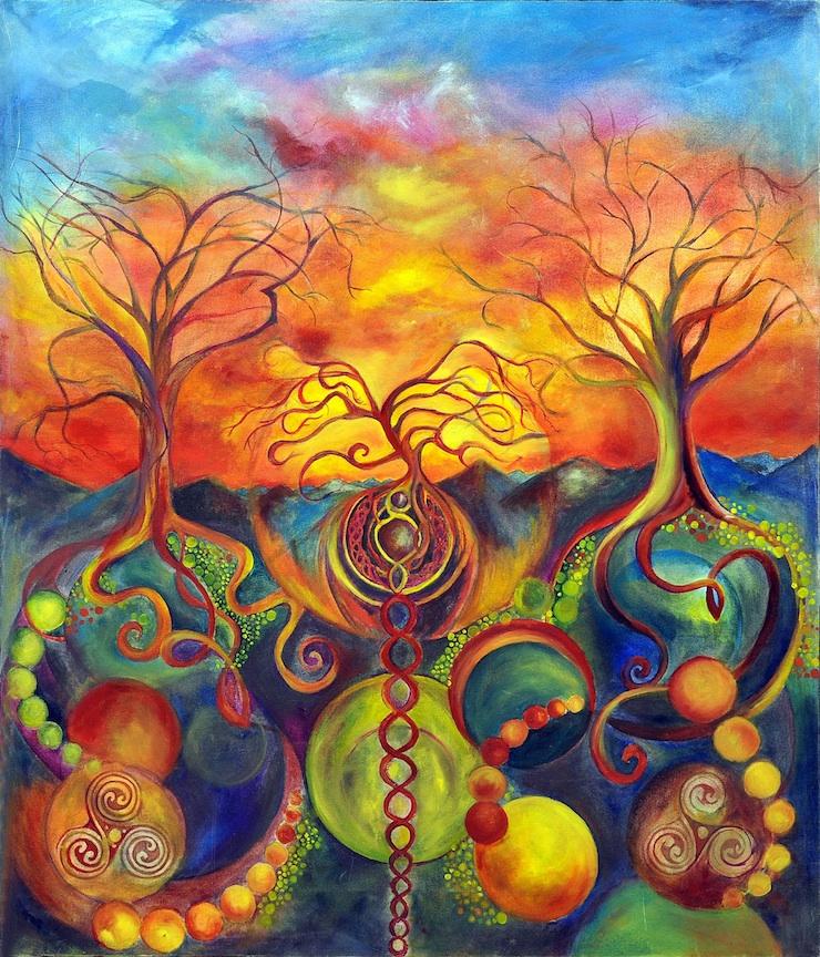 Holding Roots (Autumn)